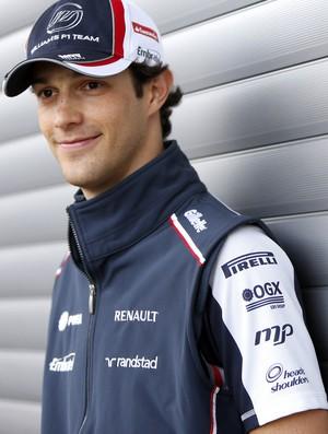 Bruno senna williams fórmula 1 (Foto: Divulgação / Williams F1/MF2)