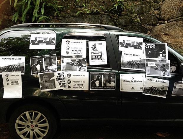 carro vascaíno brincadeiras eliminação (Foto: Christiane Mussi)