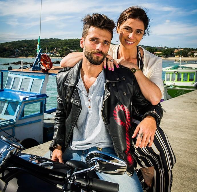 Giovanna Antonelli e Bruno Gagliasso são Alice e Mário, melhores amigos que vão se apaixonar na nova novela das 6 (Foto: TV Globo/ Divulgação)