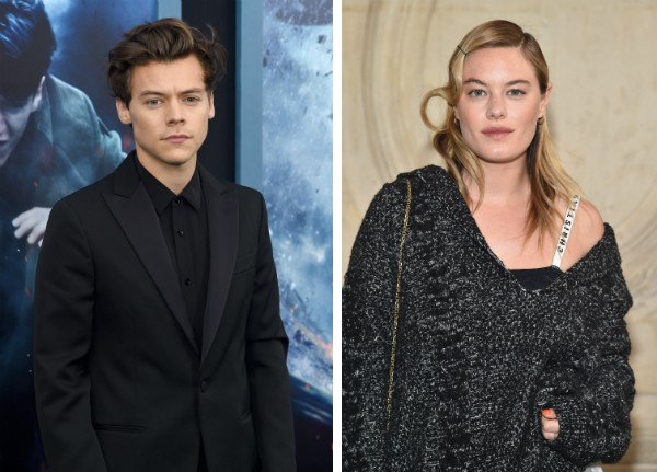 Harry Styles e Camille Rowe (Foto: Getty Images)