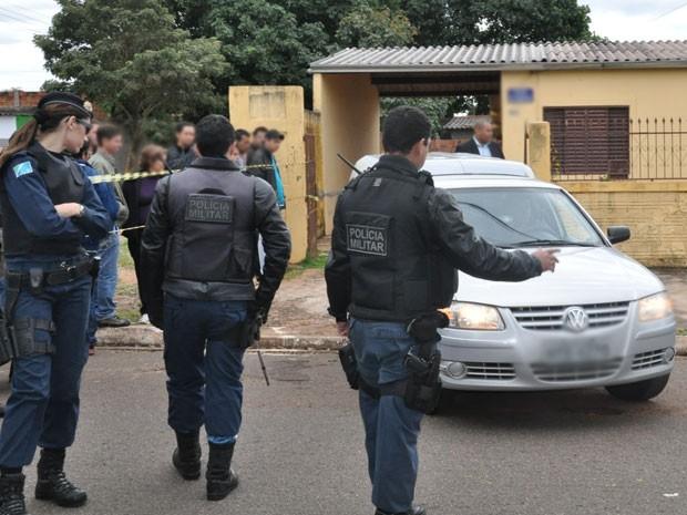 Mulher é encontrada morta dentro de casa em Campo Grande (Foto: Gabriela Pavão/G1MS)
