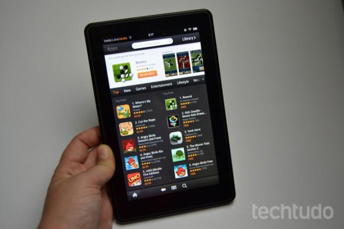Loja de aplicativos da Amazon (Foto: Stella Dauer)