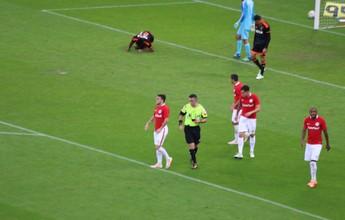 Andrigo brinca sobre gol do Inter, mas árbitro confirma que foi contra