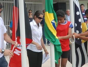 Atletismo - Jogos Escolares da Paraíba (Foto: Lucas Barros / Globoesporte.com/pb)