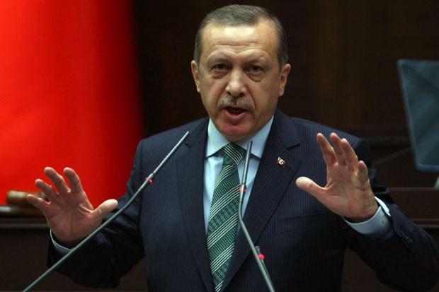 Primeiro-ministro da Turquia, Tayyip Erdogan, defende o levantamento do bloqueio ao território (Foto: Adem Altan/AFP)