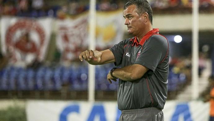 Mazola Júnior, técnico do CRB (Foto: Ailton Cruz/Gazeta de Alagoas)