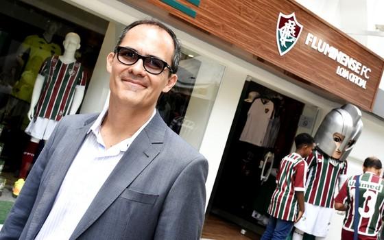 Pedro Abad, presidente do Fluminense (Foto: Mailson Santana / Fluminense)