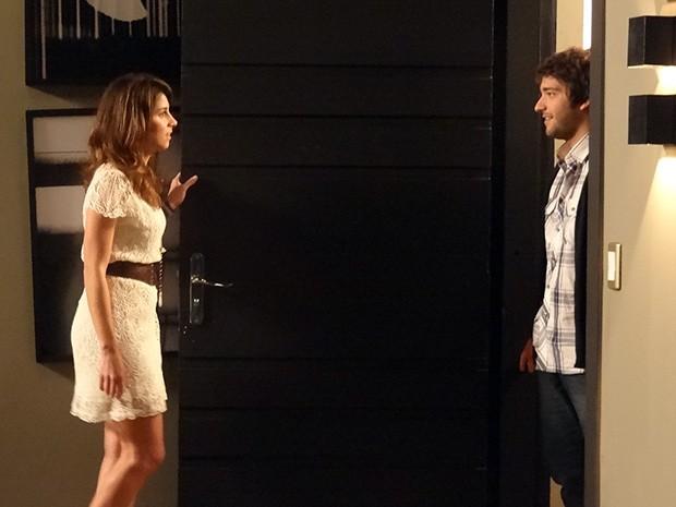 Davi se declara para Manu (Foto: Geração Brasil/TV Globo)