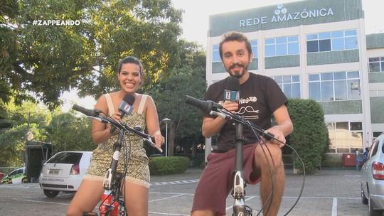 "'Zapp' deste sábado (27) teve desafio ""De bike ao trabalho"""