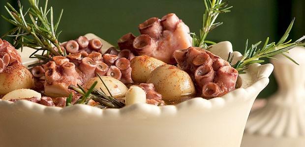 Conserva de polvo com batata e páprica (Foto: Iara Venanzi/Editora Globo)