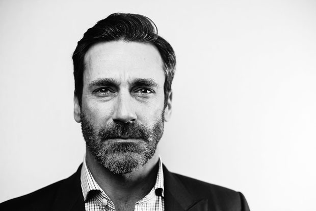 "AUSTIN, TX - MARCH 11:  (EDITORS NOTE: Image has been converted to black and white) Actor Jon Hamm poses for a portrait during the ""Baby Driver"" premiere 2017 SXSW Conference and Festivals on March 11, 2017 in Austin, Texas.  (Photo by Matt Winkelmeyer/Ge (Foto: Getty Imagesfor SXSW)"