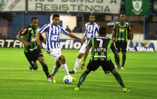 Diego Felipe e Mancini Avaí x América-MG (Foto: Jamira Furlani/Avaí FC)