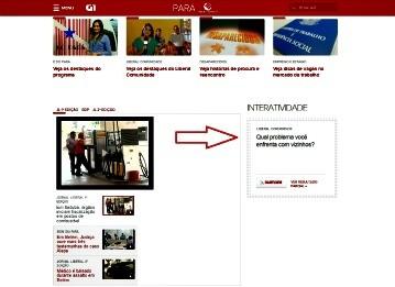 Enquete LibCOM (Foto: Reprodução/TV Liberal)