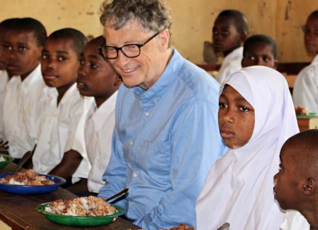 Bill Gates doa 5% de sua fortuna, maior valor desde 2000