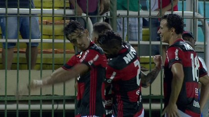Os melhores momentos de Resende 0 x 1 Flamengo pela 2ª rodada da Taça Rio