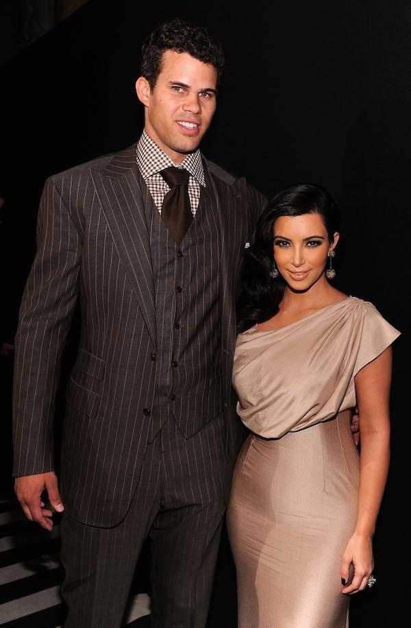 Kim Kardashian e Kris Humphries (Foto: Getty Images)