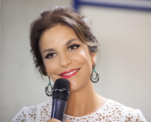 Ivete Sangalo fala sobre a rotina do domingo em família e na bancada do SuperStar (Foto: Dafne Bastos/SuperStar)