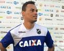 Bida espera formar parceria com Lúcio Flávio no meio-campo do ABC