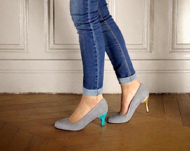 238029470 A Alegory em Paris: para comprar sapatos que trocam de salto.