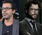 Bruno Mazzeo e Álvaro Morte | Reprodução / Twitter