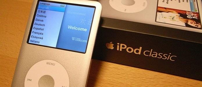 ipod classic (Foto: Divulgação)