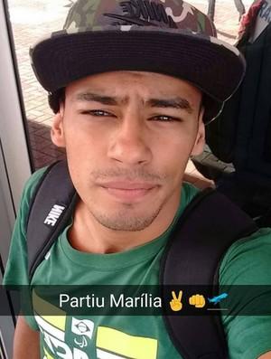 Daniel Tavares Atletismo Paralímpico  (Foto: Reprodução Instagram)