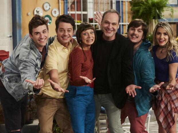 O elenco de A Vila (Foto: Foto: Juliana Coutinho )