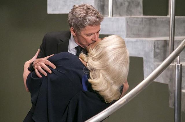 Vera Holtz e José Mayer em 'A lei do amor' (Foto: Paulo Belote/ TV Globo)