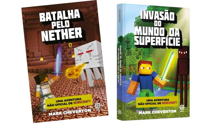 Aventuras no mundo de Minecraft (Foto: Divulgação/Galera Record)