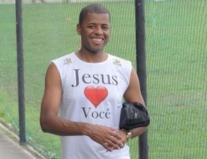 Audálio, zagueiro do CRB (Foto: Leonardo Freire/GloboEsporte.com)