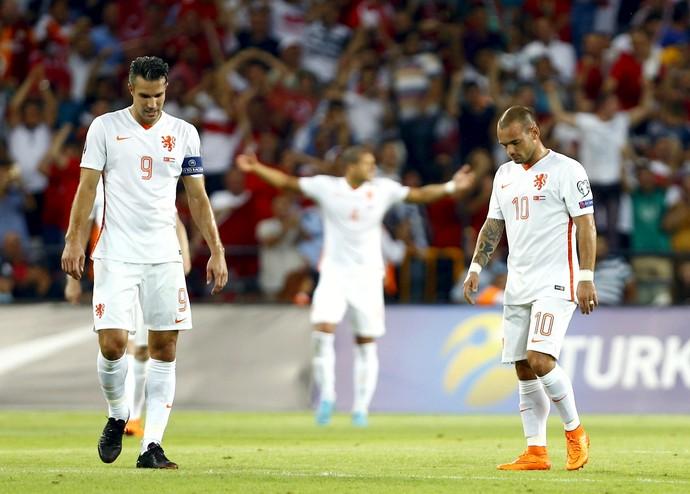 Van Persie Sneijder Holanda (Foto: Reuters)