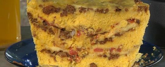 Chef JPB  ensina a fazer cuscuz e galinhada (Reprodução/ TV Cabo Branco)