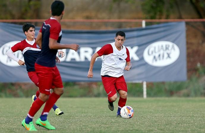 Bahia treino Rômulo e Gustavo Blanco (Foto: Felipe Oliveira/Divulgação/EC Bahia)