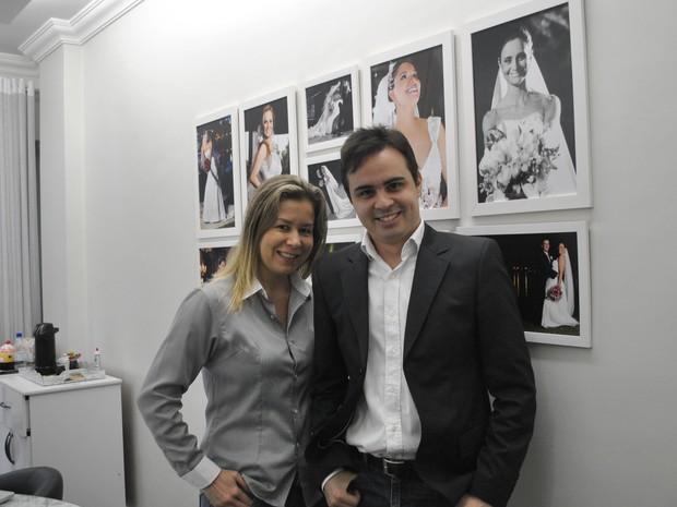 Rossano criou a That's Amore ao lado da sócia Cristina Voguel (Foto: Luiza Carneiro/ G1)