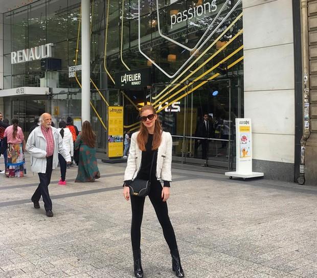 Marina Ruy Barbosa em Paris (Foto: Reprodução / Instagram)
