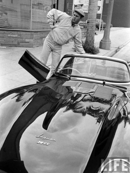 Foto (Foto: McQueen e seu XKSS - Divulgação aequivo Life)
