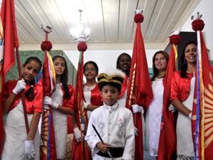 Festa do Divino em Itanhaém, SP, em 2012 (Foto: Divulgação/Prefeitura de Itanhaém)