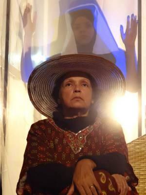 Vida de obra da escritora Lindanor Celina são tema de espetáculo teatral no Sesc, em Belém. (Foto: Luciana Porto)