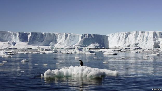 Antártica pode abrigar diamantes, dizem cientistas (Foto: BBC/Reuters)