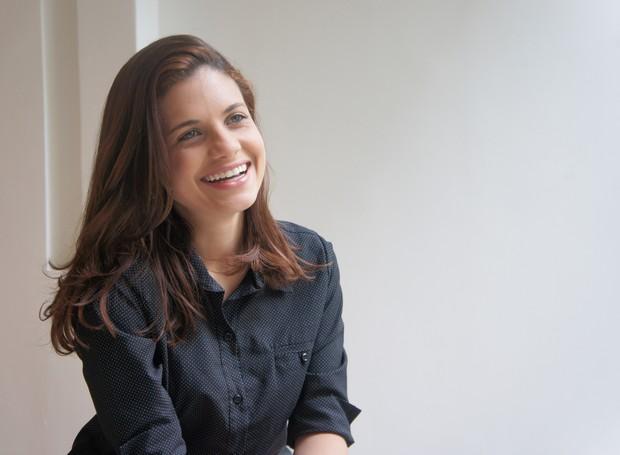 Além de repórter, Vanessa é editora do Bom Dia Paraíba (Foto: Daniel Sousa/TV Cabo Branco)