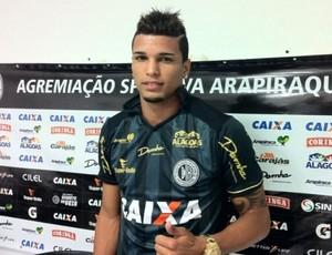 Alan Pinheiro, atacante do ASA (Foto: Ascon/ASA)