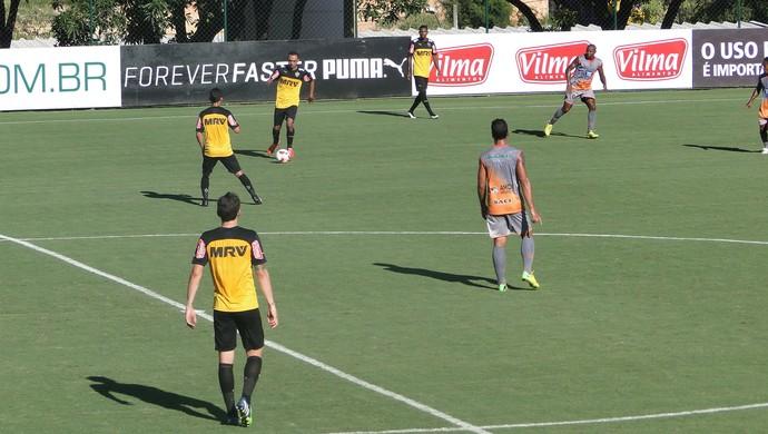 Jogo-treino Atlético-MG x Social (Foto: Fernando Martins )