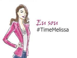 #timeMelissa (Foto: Divulgação)