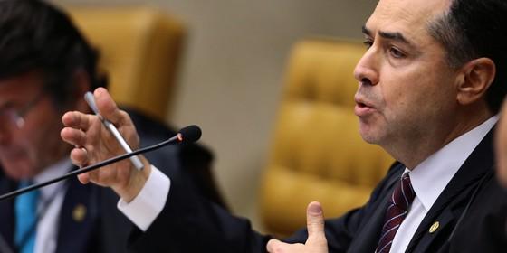 Luís Roberto Barroso  (Foto: Jorge William /Agência O Globo.)