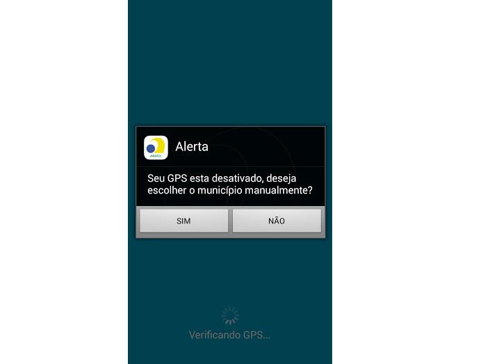 Escolha se deseja usar o GPS (Foto: Reprodução Thiago Barros)