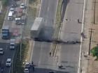 Protesto contra a PEC dos gastos bloqueia vias no Recife e estradas