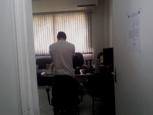 Suspeito de planejar o assassinato da universitária em Campinas (Foto: Virgginia Laborão/ G1 Campinas)