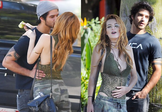 Bella Thorne e Tyler Posey (Foto: The Grosby Group)