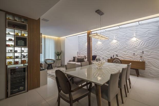 Apartamento Leandro Donizete (Foto: O apartamento do jogador Leandro Donizete )