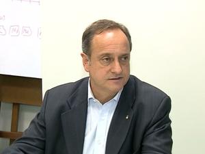 Vieira da Cunha - candidato do PDT ao governo do RS (Foto: Reprodução/RBS TV)